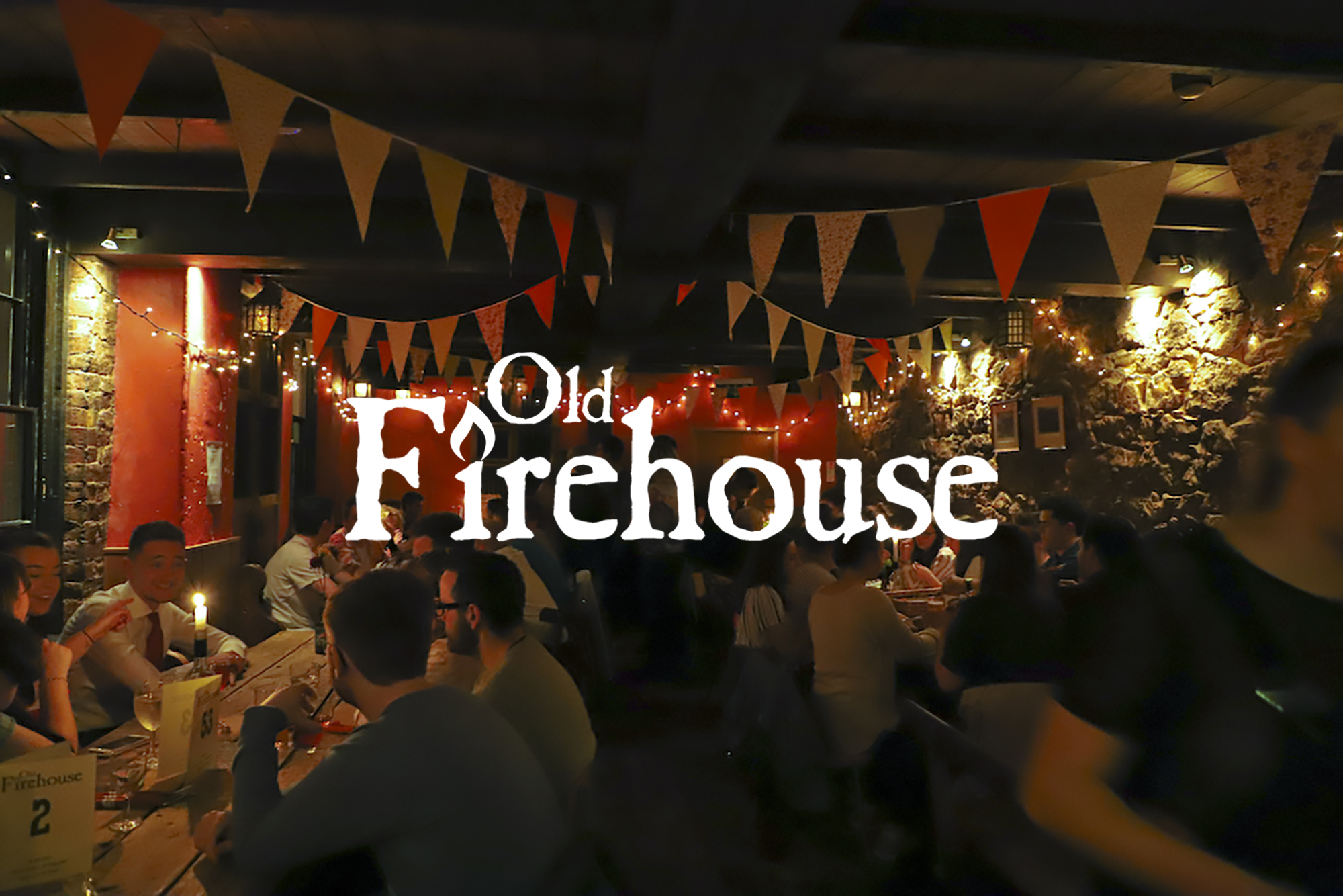 A Firehouse Christmas.Christmas Old Fire House